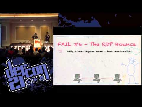 Defcon 21 - Forensic Fails - Shift + Delete Won't Help You Here
