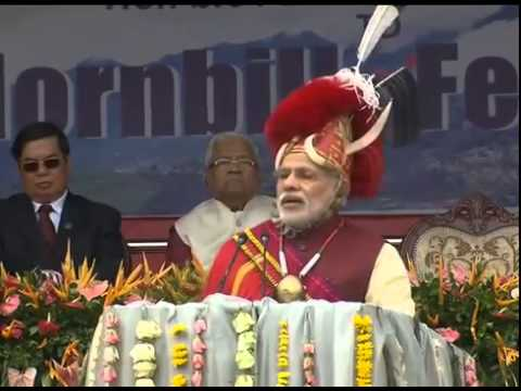 PM Modi attends Hornbill Festival in Nagaland (full event)