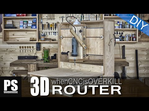 3D Router, when a CNC machine is overkill.