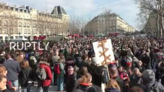 LIVE  Protesters to rally against corruption in Paris