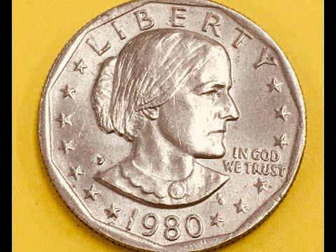 US 1980 P Susan B Anthony Dollar - United States First
