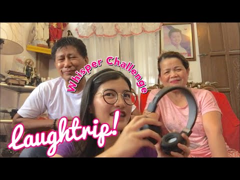 WHISPER CHALLENGE Ft. Kagawad Paeng & Tita Baby (LAUGH TRIP TO)