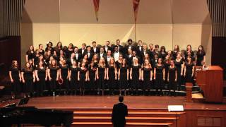 Albright College Combined Choirs Perform He Never Failed Me Yet