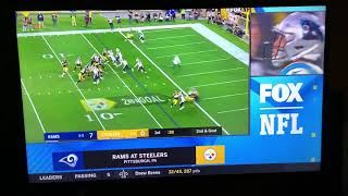 NFL on FOX Today Game Break Update: Rams @ Steelers on FOX (2)