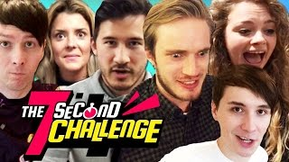 YouTubers Play The 7 Second Challenge APP!