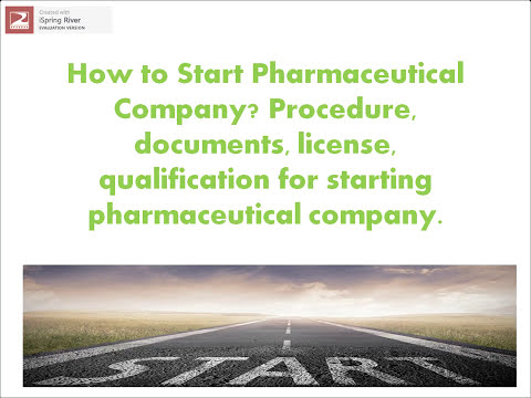 कैसे शुरू करे Pharmaceutical Company? complete Procedure, Documents, License, Qualification required