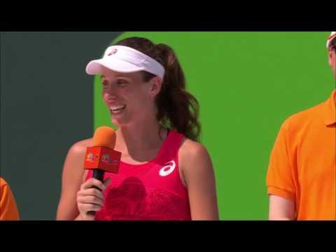 Johanna Konta 2017 Miami Open Final Speech