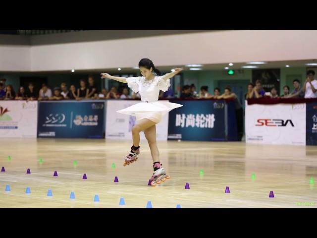 2017 SSO Senior Women Slalom?1st Champion?Su Fei Qian ??? (China)
