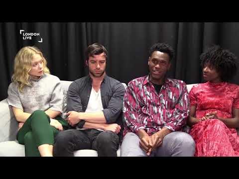 Naomi Batterick, Ben Starr, Abubakar Salim, & Abiola Ogunbiyi discuss Jamestown | London Live