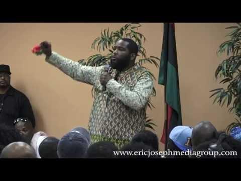Dr. Umar Johnson: Revoultion Vs Democracy (Milwaukee, WI) AUG. 2016