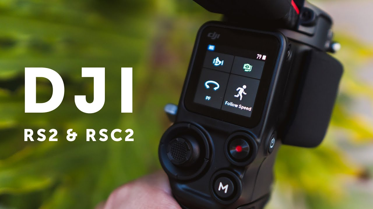 NEW DJI RS2 & RSC2 Gimbals | Cinematic Footage and Review