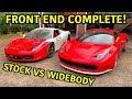 Building A Widebody Ferrari 458!!!
