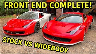 Building A Widebody Ferrari 458!!!