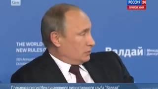 Путин рассказал историю возвращения Крыма