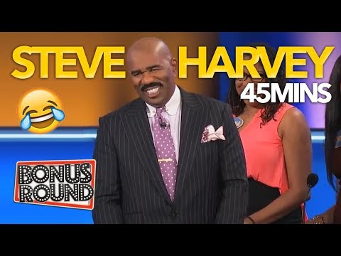 When STEVE HARVEY