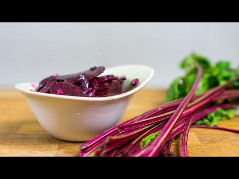 Rote-Bete-Salat süßsauer : einfaches Rezept