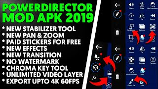 Download lagu PowerDirector Pro Mod Apk 2019   PowerDirector Pro Mod 2019   Download PowerDirector Mod Apk