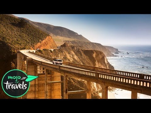 Top 10 Must-See Scenic Routes On A Trans-America Road Trip