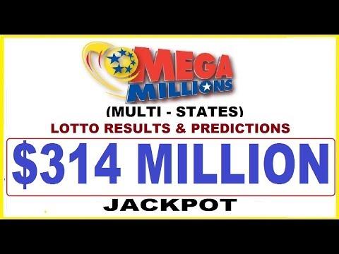 Mega Millions Lottery Results & Predictions $314 Million Jackpot -December 10,2019