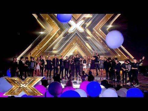 The Final 16 sing What A Feeling | The Final Results | The X Factor UK 2014