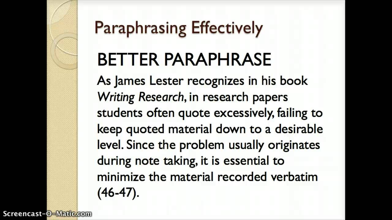 using paraphrases in an essay using paraphrases in an essay