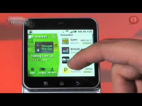 Celular Motorola Flipout MB511 (Video Reseña)