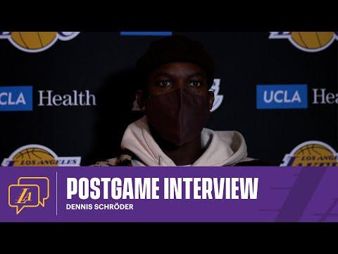 Lakers Postgame: Dennis Schröder (3/3/21)