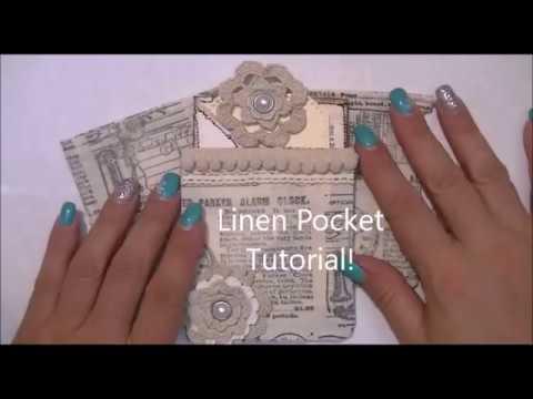 Linen Pocket Tutorial