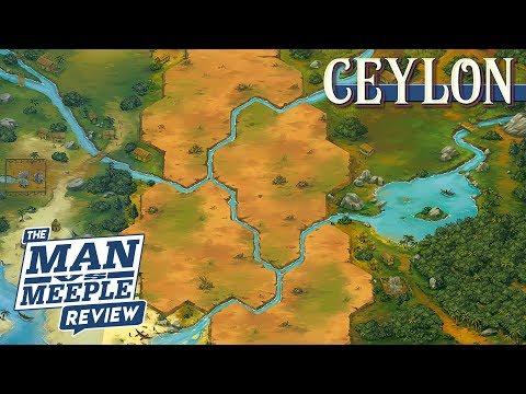 Ceylon Review by Man vs Meeple (Ludonova)