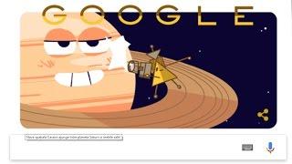 Google | Cassini Satelite | Saturn | ILLUMINATI