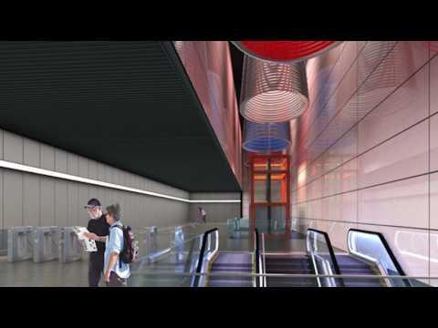 Çekmeköy-Sancaktepe-Sultanbeyli ve Sarıgazi-Taşdelen-Yenidoğan Metro Hatları Animasyonu