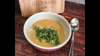 Чечевичный суп-пюре: рецепт от Foodman.club