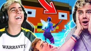 I have SIRIHACK and SHADOBASS on this DEATHRUN on FORTNITE CREATIVE!! [CODE]