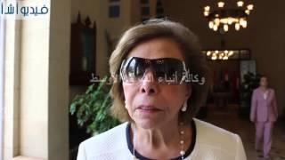 """بالفيديو : شاهد ماذا  قالت ميرفت التلاوى عن """" نبيل العربى """""""
