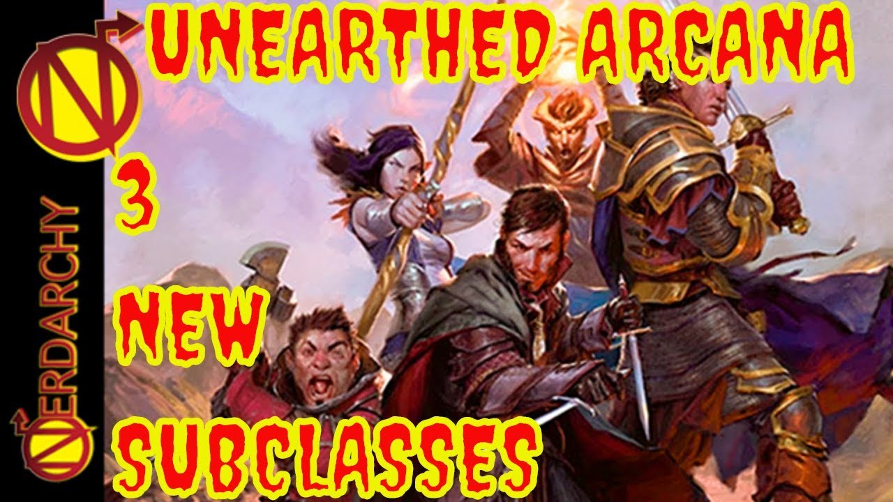 3 New Dd Subclasses Druid Fighter Wizard Unearthed Arcana Review