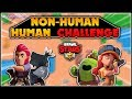 HUMAN and NON-HUMAN Duo Showdown Brawl Stars Challenge!