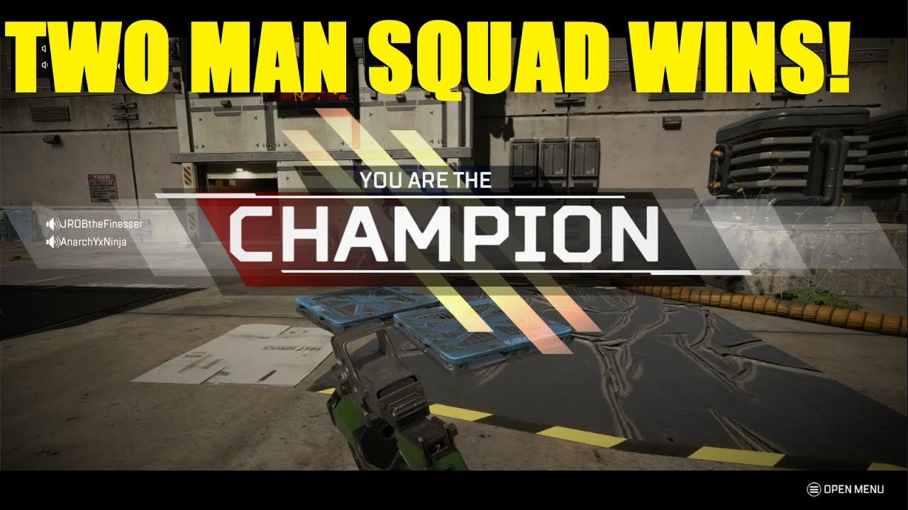 Apex Legends - Two man squad CHAMPIONS! Bloodhound is AMAZING!