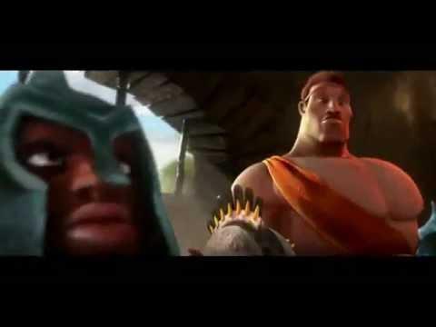 Trailer do filme Um gladiador em apuros