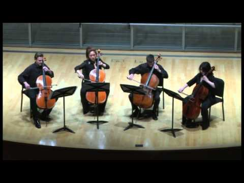 Bach Chaconne for Four Cellos