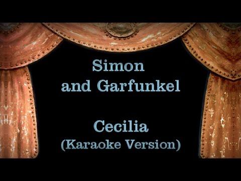 Simon and Garfunkel - Cecilia Lyrics (Karaoke Version)