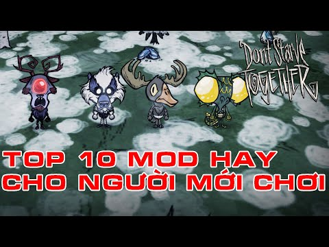 hack map de che doi 1 xay duoc all nha - TOP 10 MOD FOR NEWBIE | DON'T STARVE TOGETHER