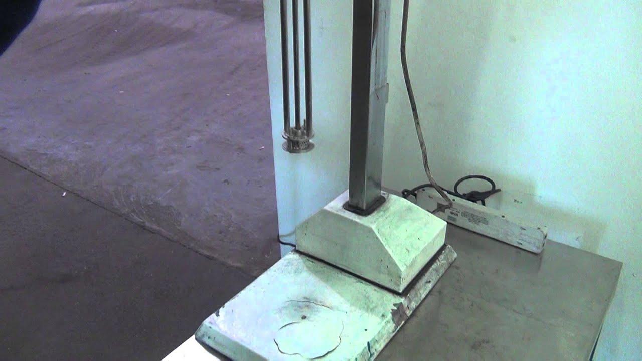 Used- Silverson Laboratory Batch Mixer Emulsifier - stock #44911001