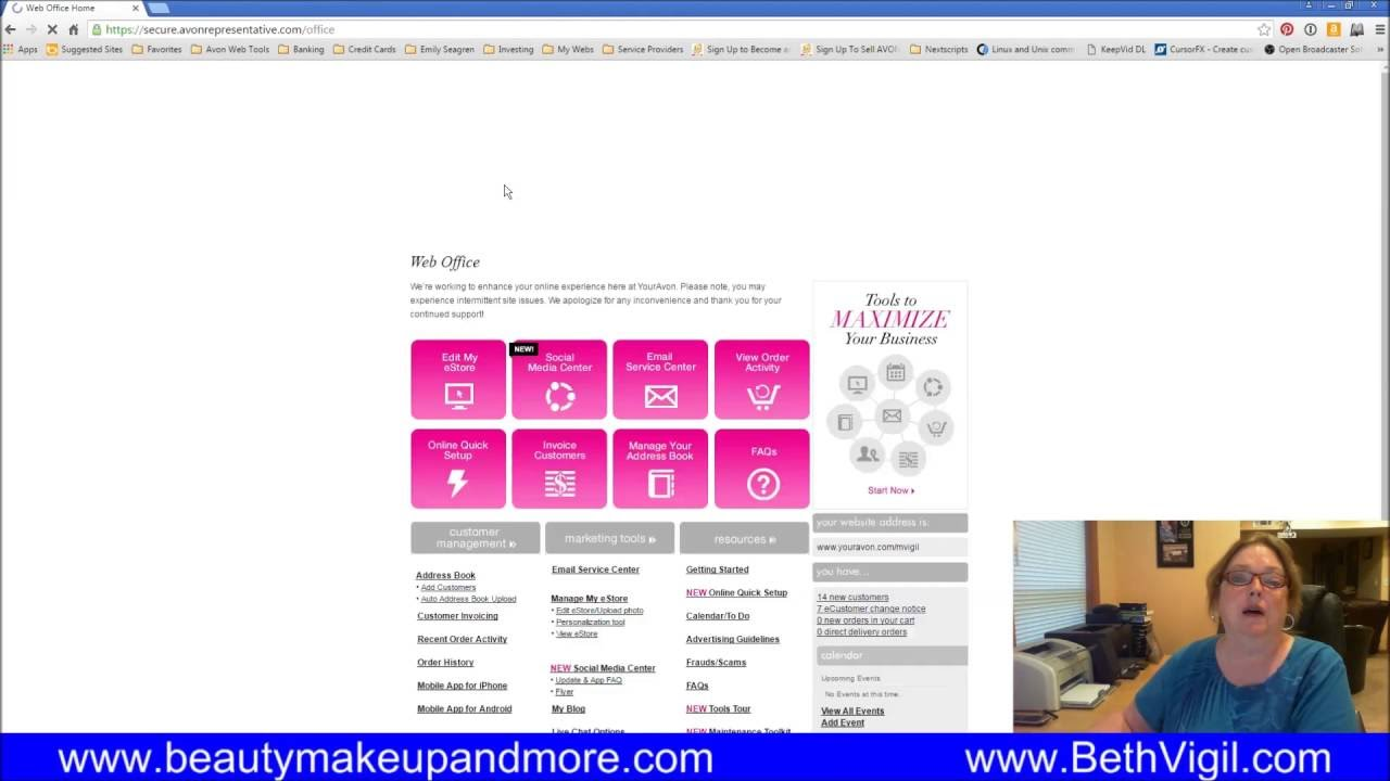 How To Place Your Avon Representative Order Youtube