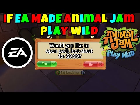 If EA Made Animal Jam Play Wild : LightTube