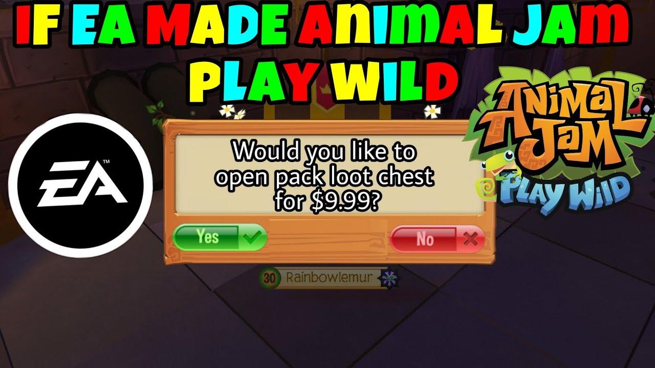 If EA Made Animal Jam Play Wild : LightTube