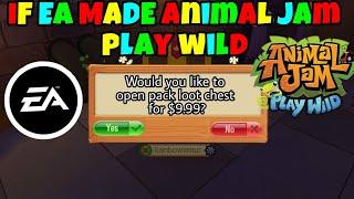 Image of: Arctic Wolf If Ea Made Animal Jam Play Wild Viyoutube Rainbowlemur Aj Viyoutubecom