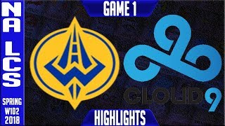 Video GGS vs C9 Highlights | NA LCS Spring 2018 S8 W1D2 | Golden Guardians vs Cloud9 Highlights download MP3, 3GP, MP4, WEBM, AVI, FLV Juli 2018