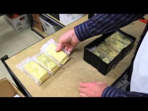 Gold Bars Royal Canadian Mint  9999 Gold Bullion