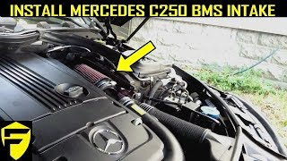 Racechip Chip Tuning Install Video Mercedes C250 E300 Cdi - S&C