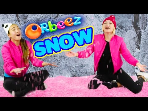 ORBEEZ SNOW DAY with the Orbeez Girls and Filled with Orbeez Crush!!   Official Orbeez